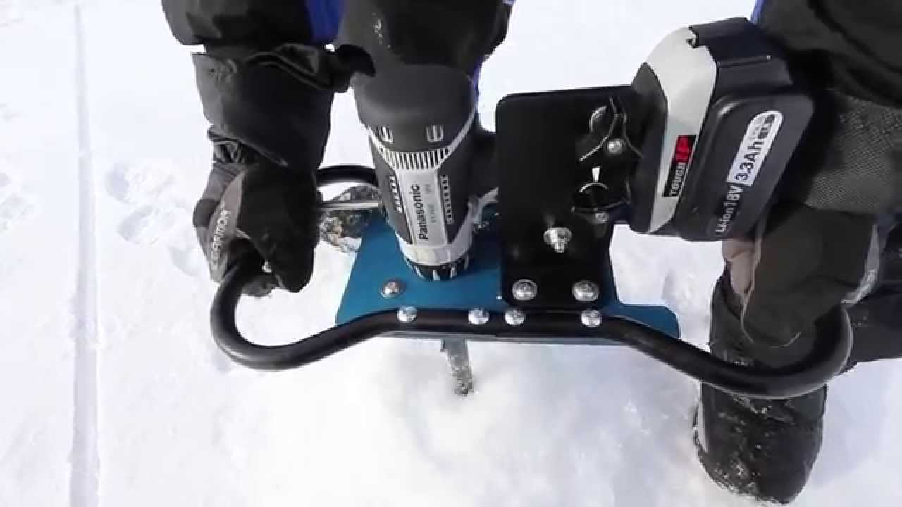 Clam Ice Auger Conversion Kit