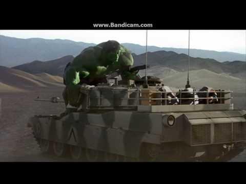 Hulk vs Tanks (2003)