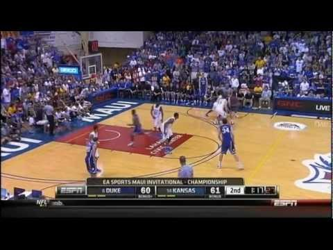 [11.23.11] Tyler Thornton - Clutch Back To Back Three Pointers Vs Kansas