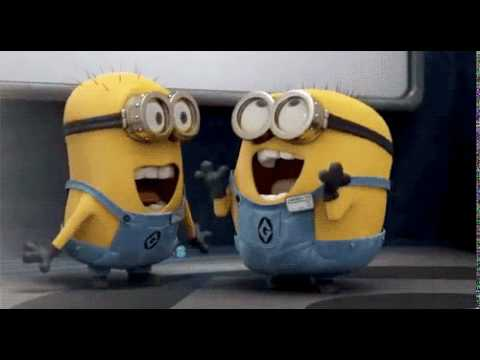 Excited excited minions...