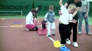 Методика обучения детей в Теннис.mov