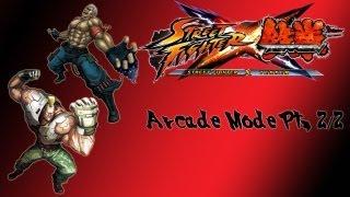 Street Fighter X Tekken Arcade Mode Bryan Jack X Pt 2 2