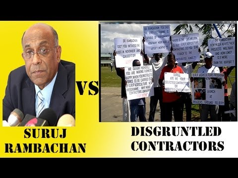 i95.5Radio Interview with Frustrated Contractors of Trinidad and Tobago