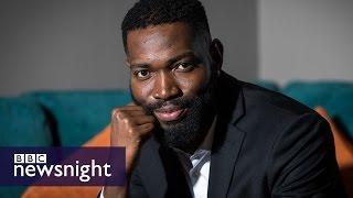 Moonlight's Tarell Alvin McCraney: 'I'm still that vulnerable boy' - BBC Newsnight