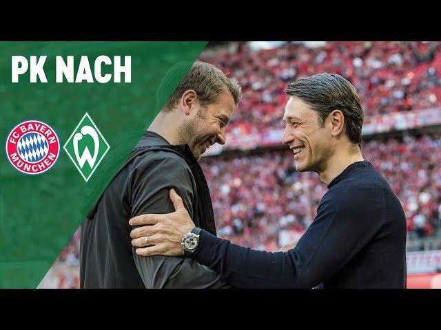 Pressekonferenz mit Florian Kohfeldt & Niko Kovac | FC Bayern München - SV Werder Bremen