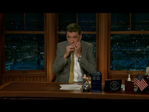 Late Late Show with Craig Ferguson 4/16/2012 Kathy Griffin, M Ward