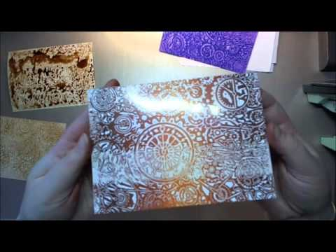 wax paper resist technique an oldie but a goodie youtube. Black Bedroom Furniture Sets. Home Design Ideas