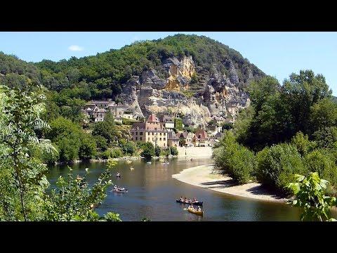 La Roque-Gageac (Dordogne), un des plus beaux villages de France HD