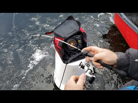 Ice Fishing Tips With The New Marcum Technologies M3 Flasher Combo
