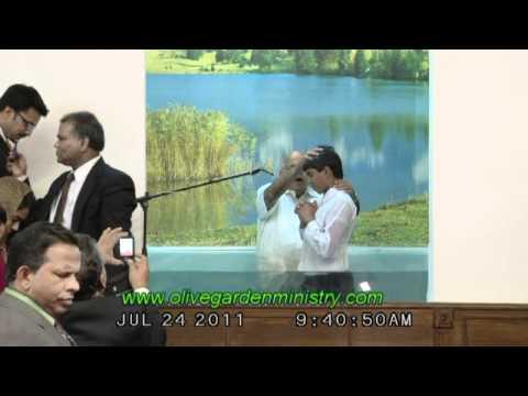 TESTIMONY OF BRO.ALBERT ON HIS BAPTISM DAY    (PART-3