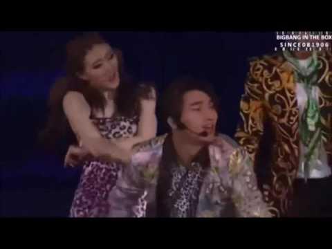 Big Bang cover de 2NE1- I LOVE YOU Yg Concert