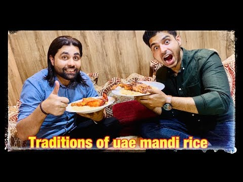 BAIT-AL-MANDI DUBAI // DUBAI TRADITIONAL FOOD // ARABIC FOOD