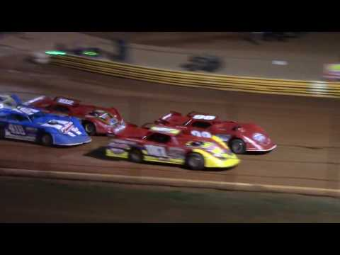 Limited Late Models racing at the New Lavonia Speedway Friday Night 3/16/18. - dirt track racing video image
