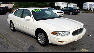 2005 Buick Lesabre Limited Walkaround, Start up, Tour and Overview