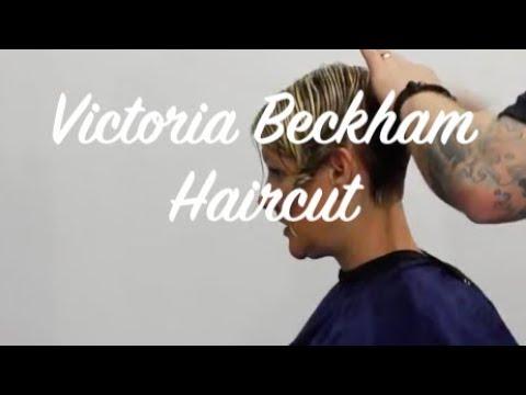 Hair Tutorial Short Stack Bob Victoria Beckham Hair Style Youtube