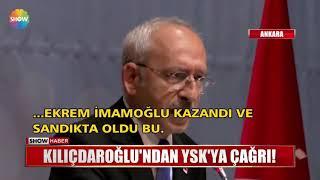 Kılıçdaroğlu'ndan YSK'ya çağrı!