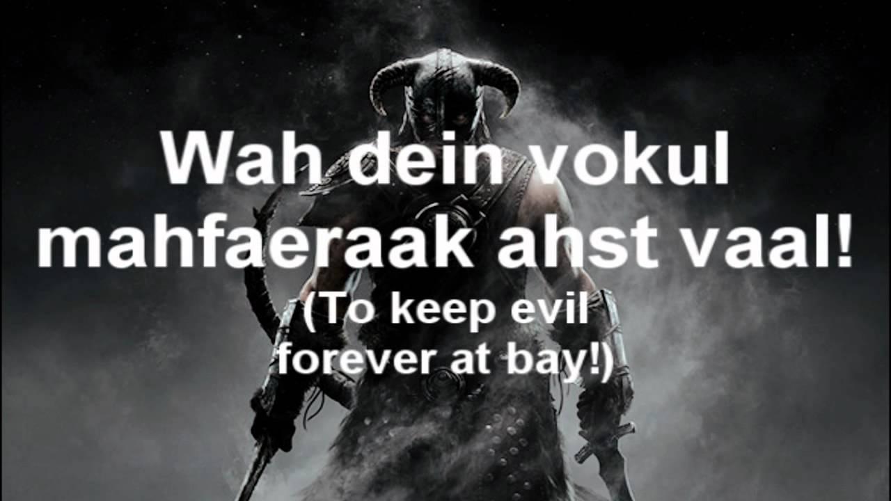 Dragonborn lyrics