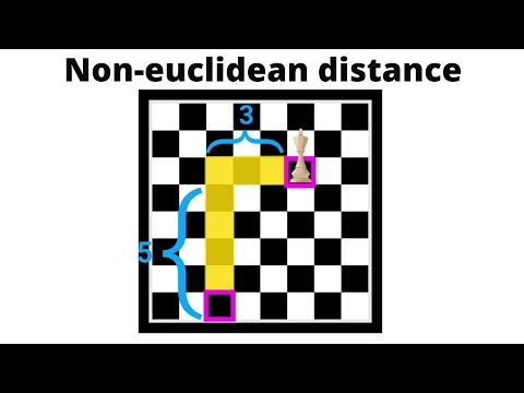 The applications of non-euclidean distance | Metric Spaces