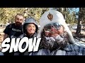 Snow Adventures with Christy Mack, Andrew and 3 Pitbulls AND a Yeti - SLIVAN #435