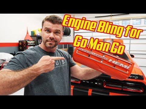 Dodge Hellcat JLT Engine Bling😎