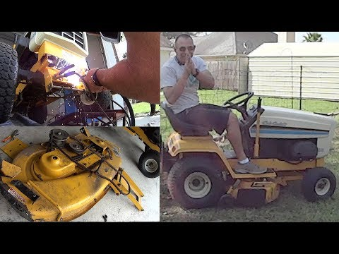 Fixed My PTO not engaging Issue - 38 Inch Cub Cadet Riding