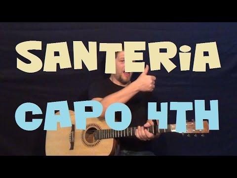 Santeria Sublime Easy Guitar Strum Lesson How To Play Tutorial