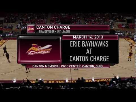 NBA D-League Highlights: Erie BayHawks 109, Canton Charge 88, 2013-3-16