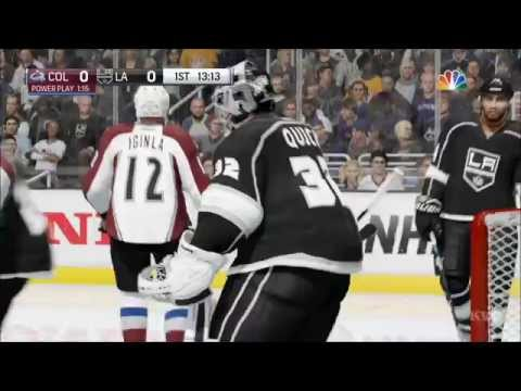 NHL 16 - Colorado Avalanche vs Los Angeles Kings Gameplay (XboxONE HD) [1080p60FPS]
