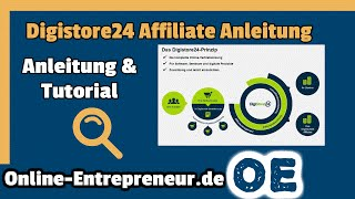 Digistore24 Affiliate Anleitung: Digitale Produkte vermarkten