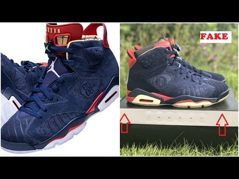 8d339626448 Air Jordan 6 Doernbecher| How Many Pairs Possibly Made & Watch Out ...