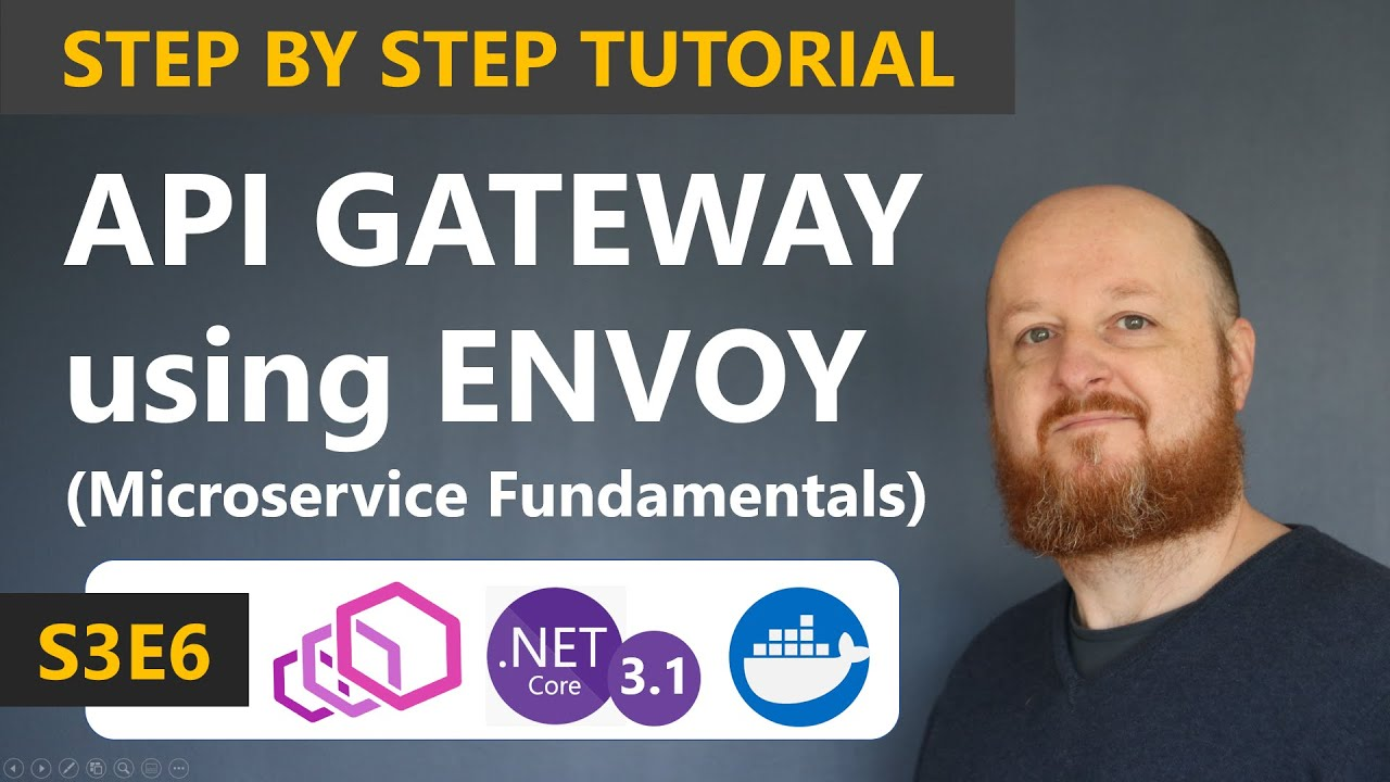 Build an API Gateway with Envoy and use with .NET Core APIs