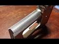 1911 Build 6 RMR - Part 2 - Hand Checkering