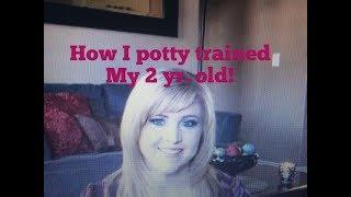How I potty train!