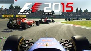 F1 2015 Gameplay - THE NEW MEXICO GRAND PRIX - PS4 60 FPS Gameplay & Replay