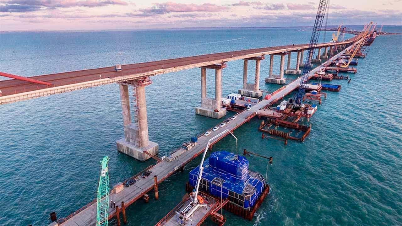 строительство моста в крым сегодня фото факт связан
