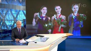 Весь пьедестал Чемпионата России по фигурному катанию заняли воспитанницы Этери Тутберидзе