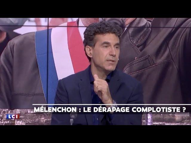 La polémique Mélenchon analysée par Del Valle - LCI/Brunet