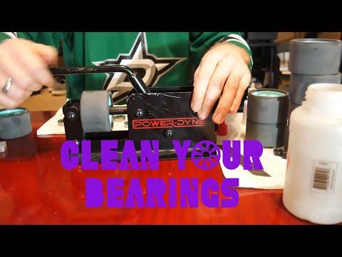 Cleaning Inline and Roller Skate Bearings (Powerdyne Bearing Press)
