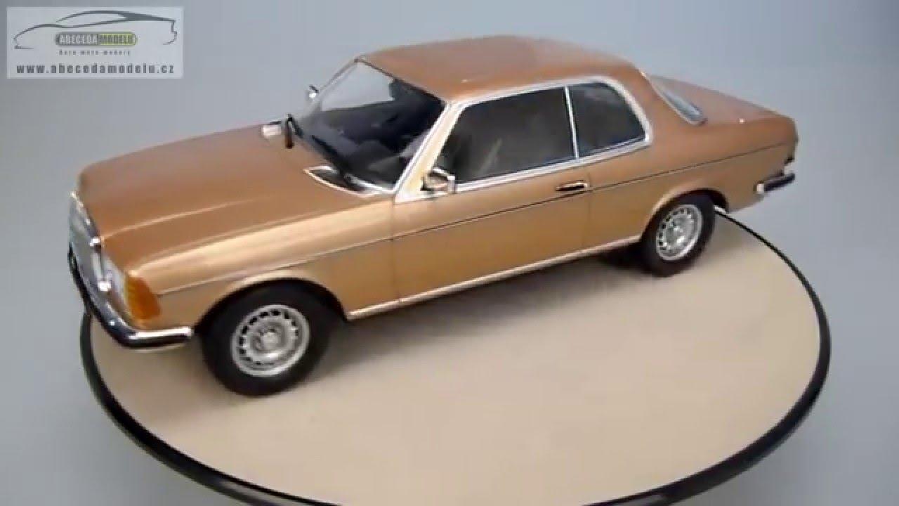 1:18 Norev Mercedes 280 CE C123 Coupe 1980 silver