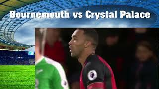 Highlights Bournemouth vs Crystal Palace Premier League