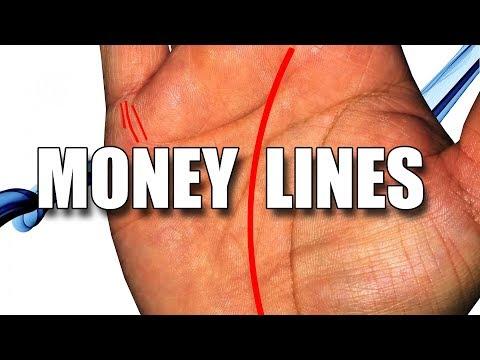 MONEY LINES Female Palm Reading || Palmistry #159