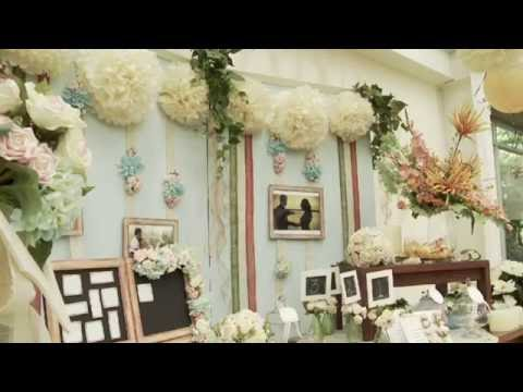 Decoraci n vintage para tu boda youtube for Decoracion de bodas vintage