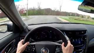2014 Cadillac CTS AWD 2.0T Luxury - WR TV POV Test Drive