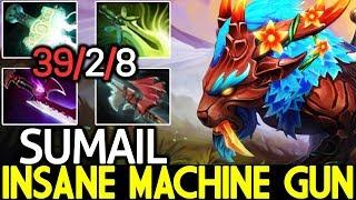 SumaiL [Mirana] Insane Machine Gun Max Attack Speed 39 Kills 7.21 Dota 2
