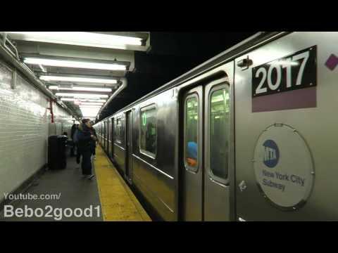 NYC Subway: IRT (4) (5) (6) at E. 103rd St - Lexington Ave (60FPS)