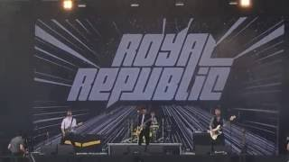 ROYAL REPUBLIC - Baby (live @ Rock in Vienna 2016)