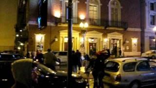 Method Man, Streetlife, Masta Killa, GZA, Inspektah Deck and U-God leave the W Hotel in Boston