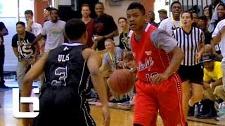 Tyler Ulis vs Trevor Dunbar BATTLE at Ballislife AA Game!! HS Kings of The Crossover! thumbnail