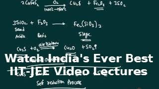 metallurgy lecture for iit jee