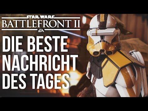 Star Wars Battlefront 2 - Die beste Nachricht des Tages! AT-TEs frei steuerbar und mehr! | NEWS thumbnail